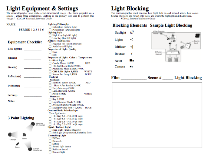 Light Settings Screenshot