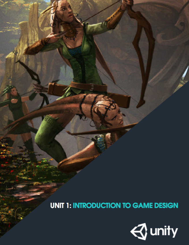 Unity Unit 1 - Intro to Game Design
